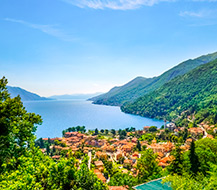 Holiday homes on Lake Maggiore, Italy